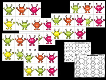 Sight Words!  Space Invaders Sight Word Recognition Game!