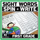 Sight Words Worksheets - First Grade Sight Word Practice