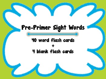 Sight Words - Splatter Theme