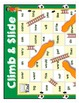 Sight Words - Sports Themed Climb and Slide Sight Word Gam