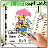 Sight Word Practice Activities - Spring Bundle