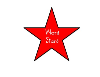 Sight Words Stars