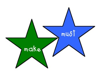 Sight Words Stars3