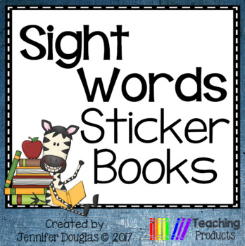 Sight Words Sticker Books