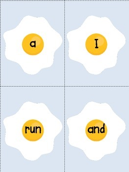 Sight Words {Sunny Side Up}