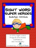 Sight Words Super Heroes Bundle Pack