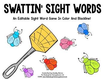 Swatting Sight Words!