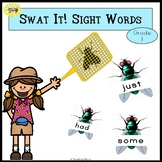 Sight Words Swatting Flies Game Dolch Grade 1
