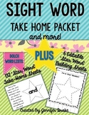 Sight Words Take Home Pack