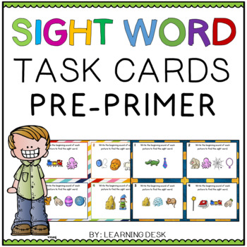 Sight Words Task Cards