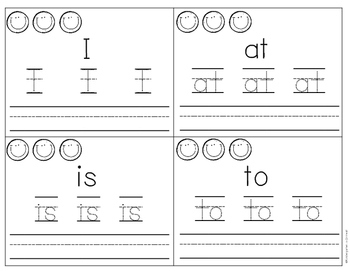 Sight Words - Task Cards