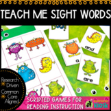 Sight Words: Teach Me to Read