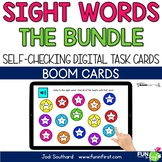 Sight Words (The Bundle) - Digital Task Cards - Boom Cards