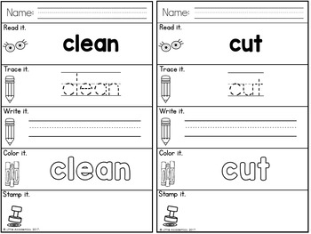 Sight Words Third Grade Words