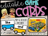 Sight Words Train Centers - Dolch & Fry Sight Word Train Game Cards