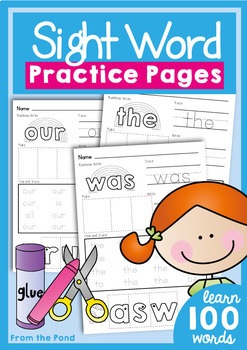 Sight Word Practice: Ultimate Pack {Games Worksheets Activities}