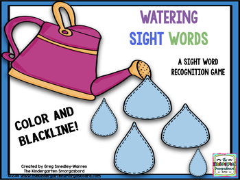 Watering Sight Words!