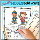 Sight Word Practice Activities - Winter Bundle