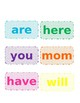 Sight Words & Word Family Cards