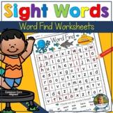 Sight Words Word Find Summer