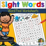 Back to School | Summer Word Search | Sight Words Practice