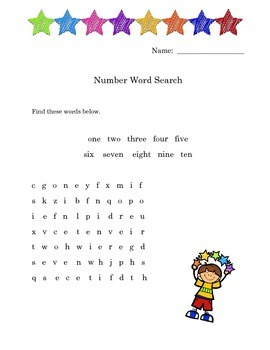 Super Fun Sight Words Word Search Packet