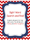 Sight Words-Word Search