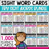Fry Sight Words Flash Cards - 1,000 Sight Word Bundle