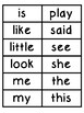 Sight Words Word Wall Cards (Wonders)