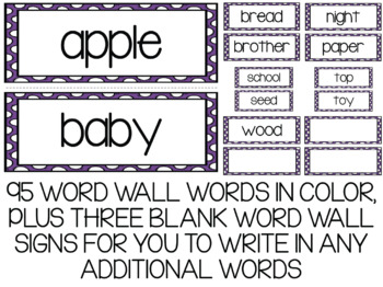 Sight Words Word Wall(s) Bundle