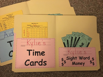 Sight Words - Work Hard for the Money!