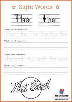 Kindergarten Sight Words Workbook