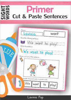 Sight Words Worksheets & Activities Primer BUNDLE