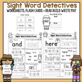Sight Words Worksheets | Dolch Pre Primer |  Flash Cards |