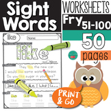Sight Words Kindergarten