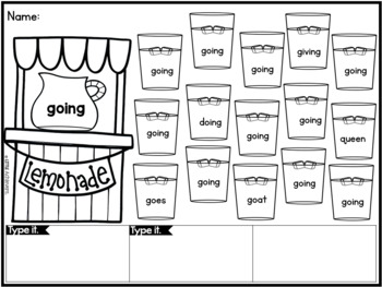 Sight Words Kindergarten and First Grade Sight Words Activities BUNDLE