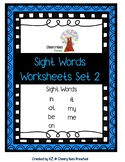 Sight Words Worksheets Set 2 (No Prep)
