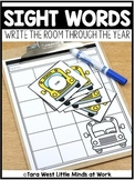 Sight Words Write the Room Through the Year
