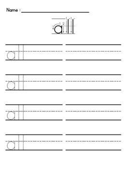 Sight Words Writing Package (Kindergarten)