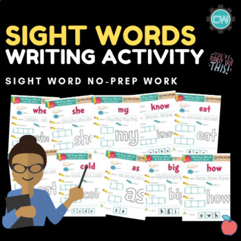 Sight Words: Writing Activities