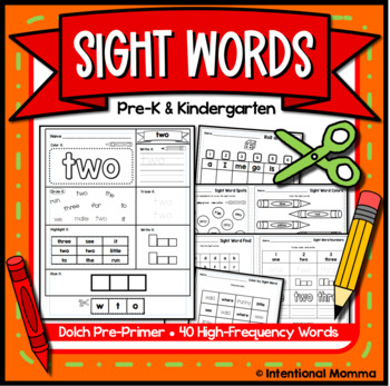 Sight Words and Alphabet fo