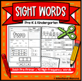 Sight Words and Alphabet for Preschool