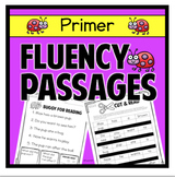 Fluency Passage Primer First Grade