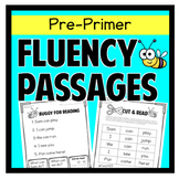 Fluency Passages Preprimer First Grade Sentence Scramble