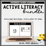 Sight Words and Letter Identification Activities Bundle