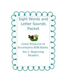 Sight Words and Letter Sounds Packet