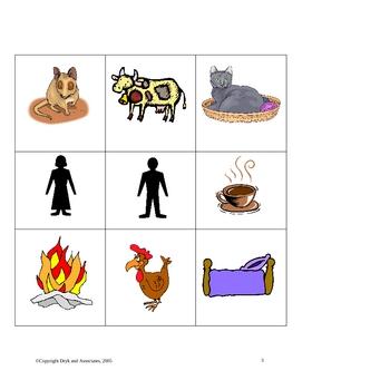 Sight Words and Noun Sentences (English and Spanish)
