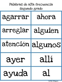 Sight Words and Numbers Second-Third Grades