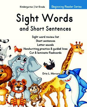 Sight Words and Short Sentences for Beginning Readers