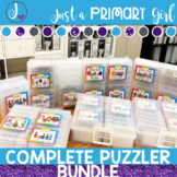 Sight Words and Word Family Centers | The Complete Bundle